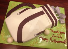 Golf Cake by simplysweets