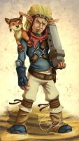Jak and Daxter- Realistic by Gashu-Monsata