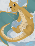 Mega Dragonite by XxLovelyDreamer13xX