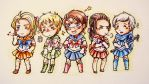 Hetalia Sailor Moon Crossover by bakahouken