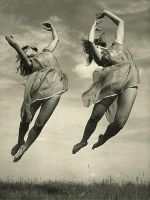 Modern Dancers, 1930s by Step-in-Time-Stock