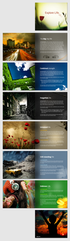 Booklet - Explore Life by aMyrup