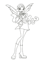 Winx Club Charmix Layla coloring page by winxmagic237