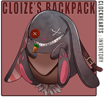 Clockhearts: Cloize's Backpack by hen-tie
