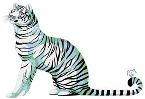 White tiger by t1sk1jukka
