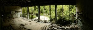 Pripyat Sports Hall II by JaanusJ