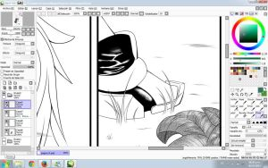 Sonic HumanUpleader Page WIP Spoiler by Heart-tsukikage