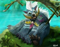 Wow-troll Druid by Vandrell