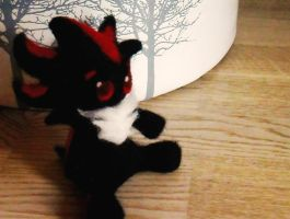 Needle Felted Chibi Shadow by RAWN89