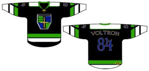 Voltron Hockey Jersey Design by Kaito42