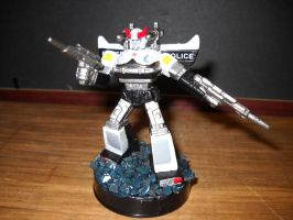 Transformers G1 Prowl custom attacktix figure by Prowlcop