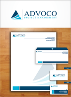 Advocco logo and Stationary by phatik