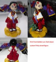 Himi pinky street custom figure by breathofgoldenfire