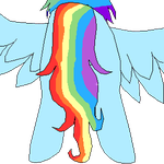 Rainbow Dash Butt by RainbowDashPlz