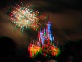 Cinderella's Castle Wishes 3D by crocodile-tears
