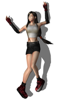 Tifa Lockheart Knocked Out 4 by FallenParty