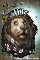 Oz 11 Cowardly Lion color by ToolKitten