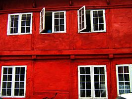 The Red House II by LaDivinaLuce