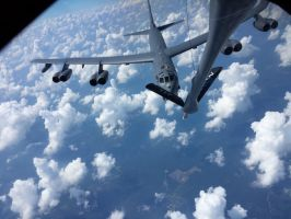 B-52 Stratofortress pre-contact by AviatorAndy