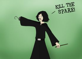 KILL THE SPARE by FangsAndNeedles