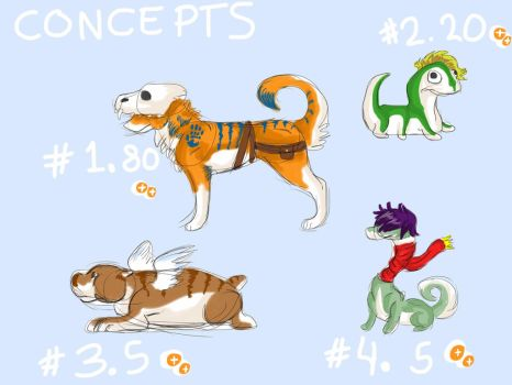 MORE *CHEAP* CONCEPT ADOPTS ~OPEN~ by LOTSOFADOPTS