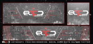 FaZe Red Reserves Social Media Covers by WatsonGFX by JesterDZN