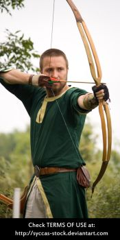 Male Archer 5 by syccas-stock