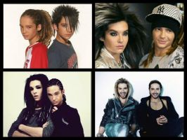 The Kaulitz Twins by Black-Jack-Attack