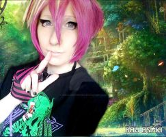 Anime Oshare Kei Make Up Hair Pink Blond Scene Emo by VisualKeiForever