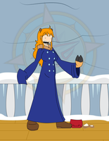 Nami's Winter Treat 2 by Dragon-FangX