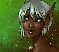 Essa Bust Commission by luniara