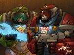 Super Mario Brothers by silentgecko
