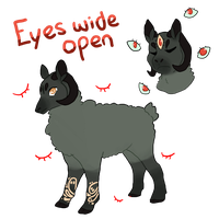 Eyes wide open Adopt *OPEN* by Ravynflight
