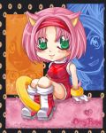 +Amy Rose+Chibi+ by Miriamele