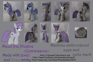 MLP Maud Pie ::Commission:: 10 inch mare by RubioWolf