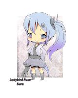 Request - chibi blue by LadyBird-Rose