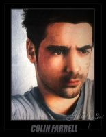 Colin Farrell Color Portrait by toxicdesire