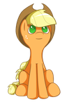 Applejack by flamevulture17