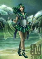 Super Sailor Neptune by radiant-suzuka