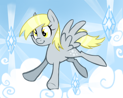 Ditzy in the Sky with Diamonds by Khiroptera