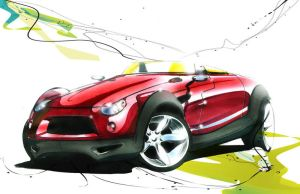 MINI Clubster sketch 5 by Oldspeed