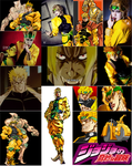 Dio Brando cosplay collage by IronCobraAM