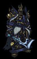 Tirion, the New Lichking by ChaosSummers