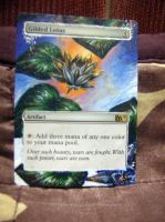 Altered MTG card: Gilded lotus by idielastyr