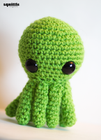 Green Octopus by tiny-moon