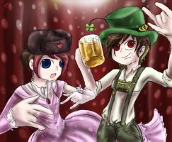 Fragaria n Invidia partying by Chocoreaper
