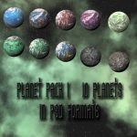 Planet pack 1 by Random-Acts-Stock