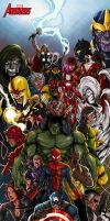 Marvel's Avengers by avalonfilth