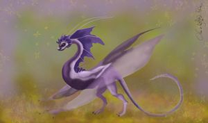 Bat Dragon by aiduqui