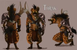 Gnoll Archer concept by fiszike